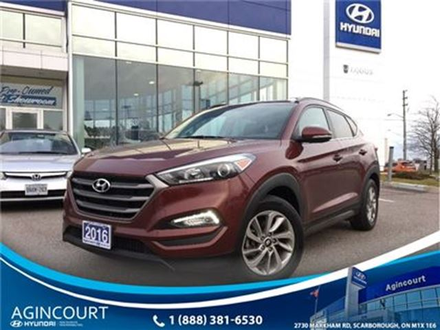 2016 HYUNDAI Tucson Luxury/NAVI/LEATHER/PANO ROOF/POWER TAILGATE in Toronto, Ontario