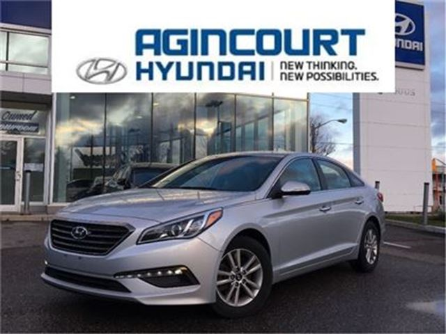 2015 HYUNDAI Sonata GLS/BLINDSPOT/BACKUP CAM/PUSH BUTTON/OFF LEASE in Toronto, Ontario