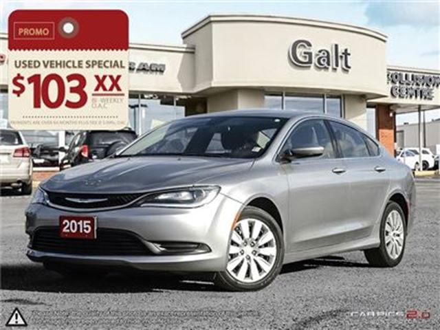 2015 CHRYSLER 200 LX   KEYLESS   POWER GROUP   TRADE IN in Cambridge, Ontario