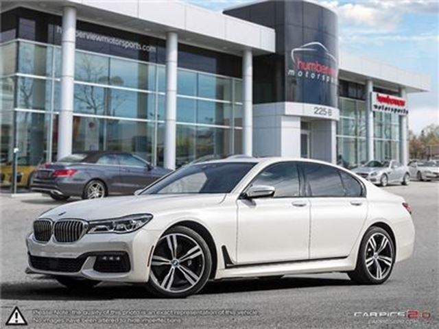 2016 BMW 7 SERIES 750 AWD   CAR-PROOF CLEAN   CAMERA   NAVI in Mississauga, Ontario