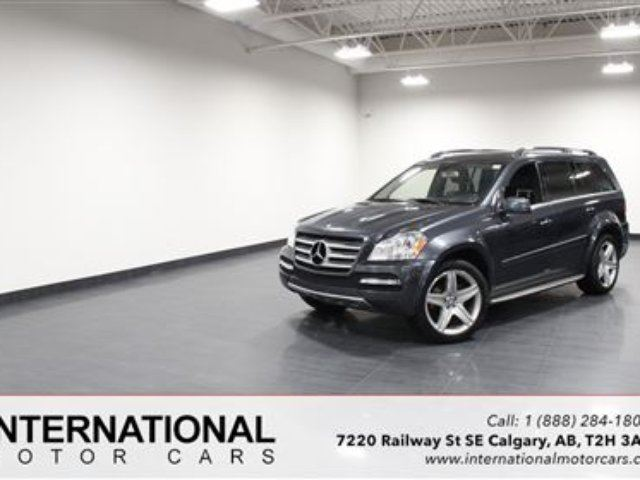 2011 MERCEDES-BENZ GL-CLASS GL550! AMG SPORT PACK! LOW KMS! in Calgary, Alberta