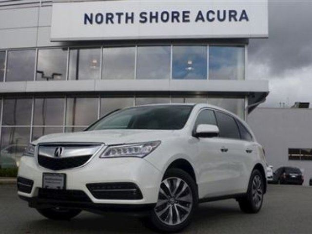 2015 Acura MDX Navigation at in North Vancouver, British Columbia