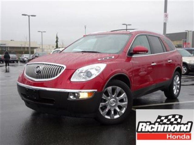 2012 BUICK ENCLAVE CXL AWD! 6 Months Powertrain Warranty! in Richmond, British Columbia
