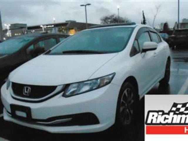 2014 HONDA Civic EX! Honda Certified Extended Warranty to 160, 000 in Richmond, British Columbia