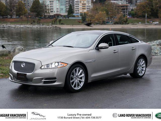 2013 JAGUAR XJ SERIES XJ 3.0L AWD in Vancouver, British Columbia