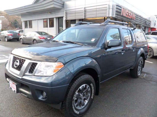 2014 NISSAN FRONTIER PRO-4X 4x4 Crew Cab 126 in. WB in Kamloops, British Columbia