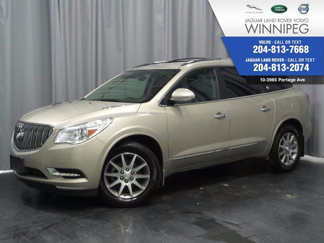 2016 BUICK ENCLAVE Leather *SATURDAY SPECIAL $1,000 SAVINGS* in Winnipeg, Manitoba