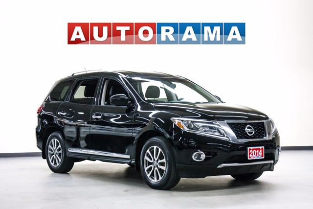 2014 NISSAN Pathfinder SL NAVIGATIO LEATHER SUNROOF BACKUP CAM 4WD 7 PASS in North York, Ontario