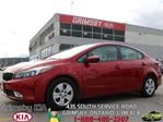 2017 Kia Forte LX+...RED ROCKET!!! in Grimsby, Ontario
