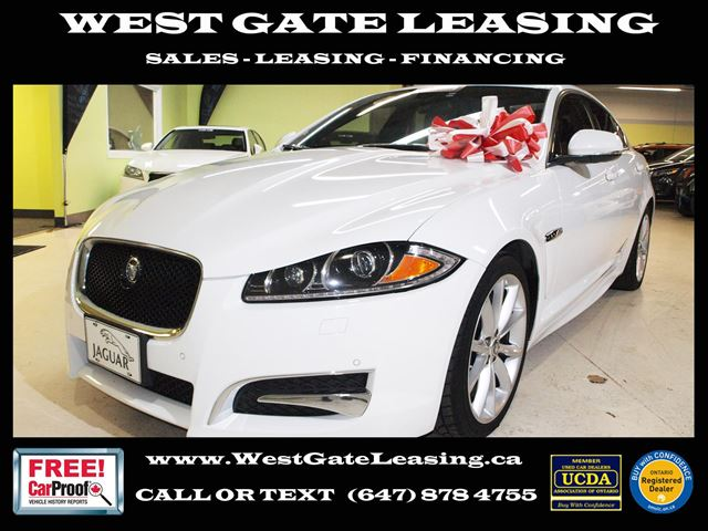 2012 JAGUAR XF 5.0L V8  SPORT XF-R SKIRTS  FULLY LOADED  in Vaughan, Ontario