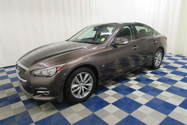 2014 INFINITI Q50 Premium AWD/NAV/LEATHER/REAR CAM/LOADED!! in Winnipeg, Manitoba