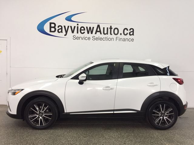 2016 MAZDA CX-3 GT- AWD|ROOF|LTHR|REV CAM|BOSE|BLUETOOTH|CRUISE! in Belleville, Ontario
