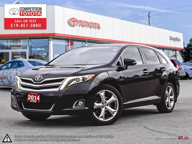 2014 TOYOTA VENZA Base V6 Toyota Certified, One Owner, No Accidents, Toyota Serviced in London, Ontario