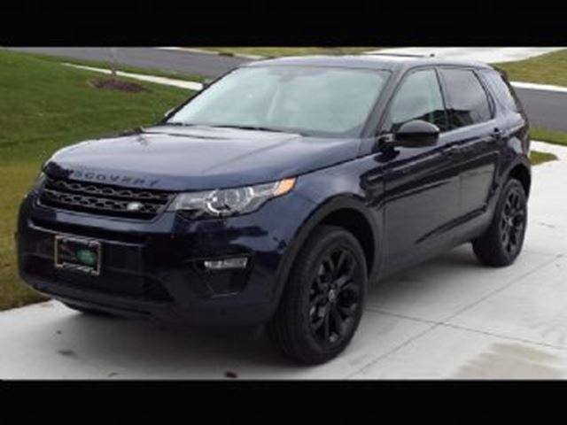 2016 LAND ROVER DISCOVERY HSE Luxury FULLY LOADED + Lease Protection in Mississauga, Ontario