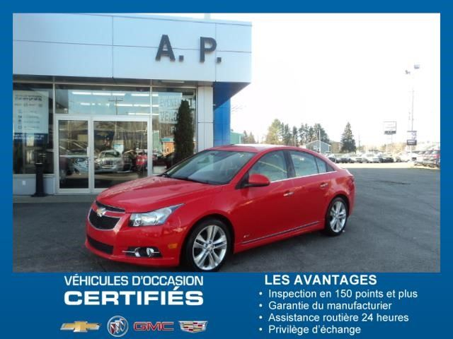 2014 Chevrolet Cruze LTZ in New Richmond, Quebec
