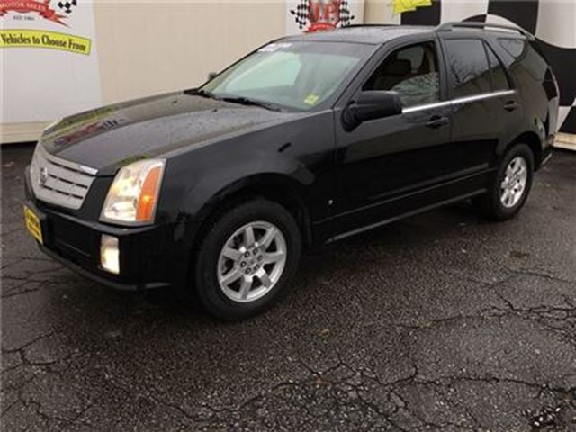 2008 CADILLAC SRX Automatic, Leather, Power Seats, AWD in Burlington, Ontario