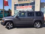 2016 Jeep Patriot HIGH ALTITUDE LEATHER NAVIGATION SUNROOF in Milton, Ontario