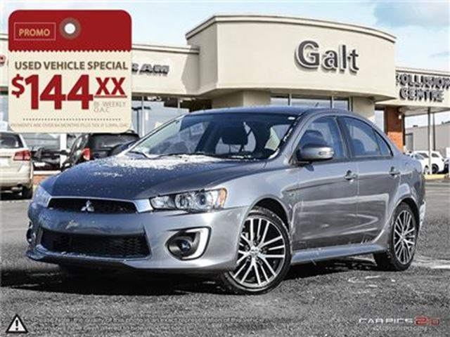 2016 MITSUBISHI LANCER ES   AWD LEATHER SUNROOF in Cambridge, Ontario