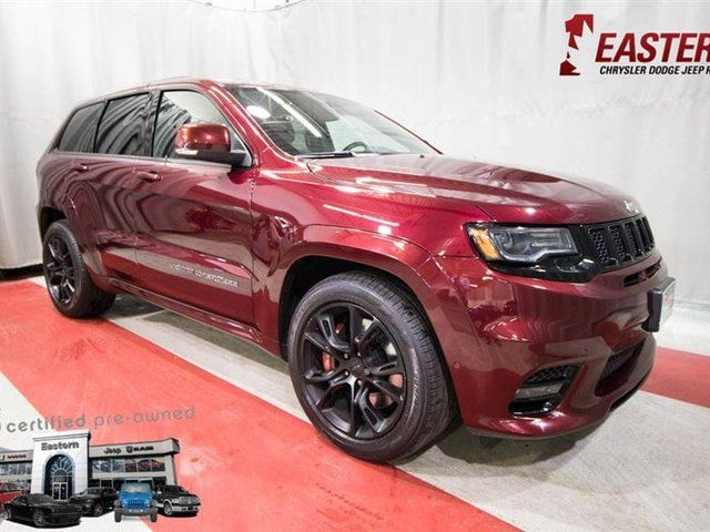 2017 JEEP GRAND CHEROKEE SRT V8 HEATED SEATS UCONNECT in Winnipeg, Manitoba