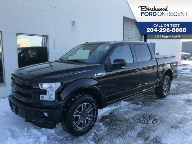 2016 FORD F-150 Lariat Supercrew 4X4*Sport Appearance Package* in Winnipeg, Manitoba