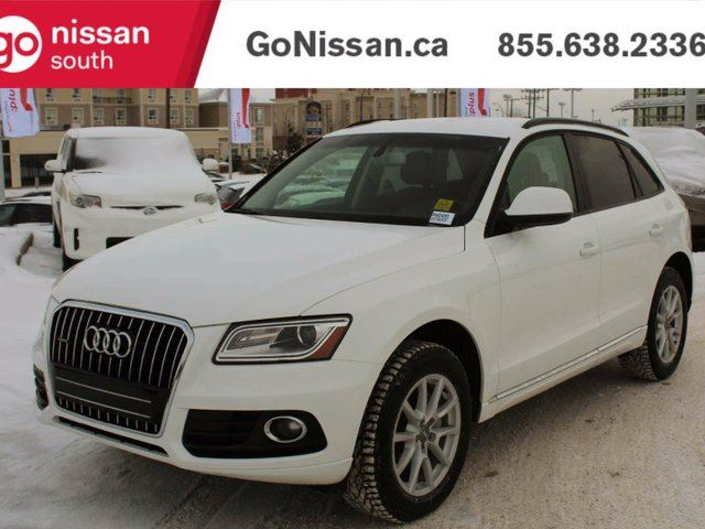 2014 AUDI Q5 QUATTRO, LEATHER, HEATED SEATS in Edmonton, Alberta