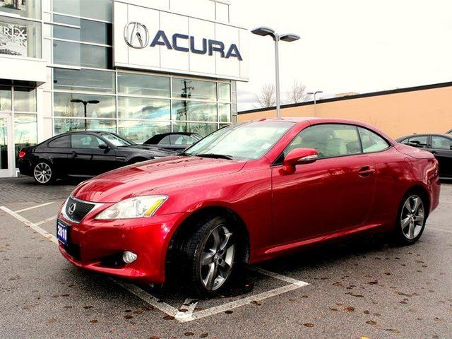 2010 LEXUS IS 350 C RWD 6A in Langley, British Columbia