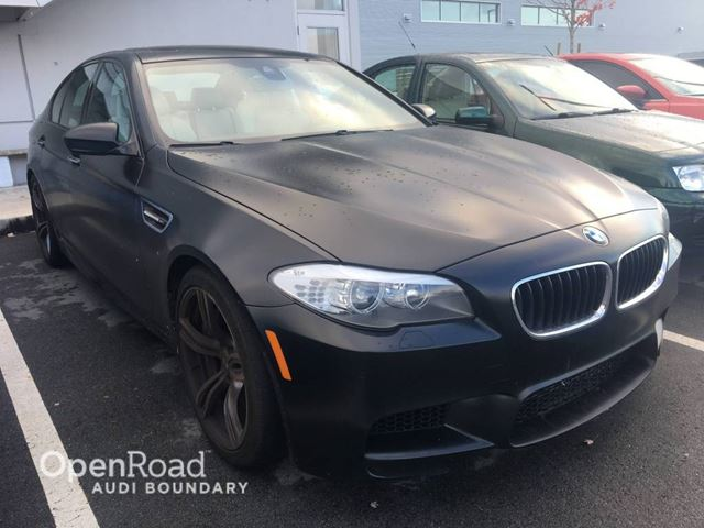 2013 BMW M5 4dr Sdn in Vancouver, British Columbia
