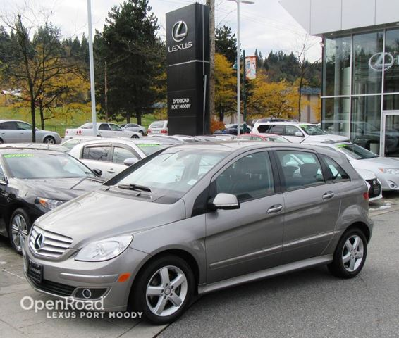 2008 MERCEDES-BENZ B-CLASS Front Wheel Drive - Heated Front Seats in Port Moody, British Columbia