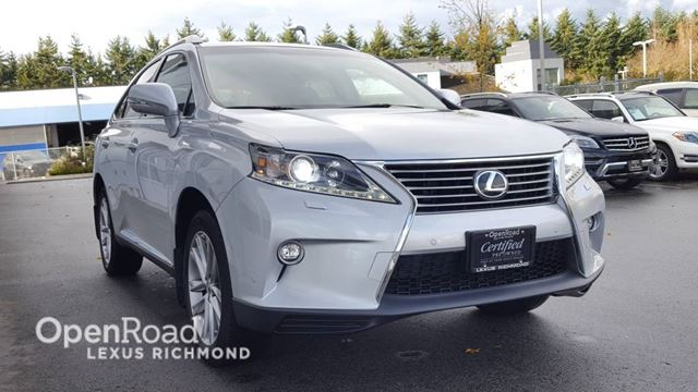 2015 LEXUS RX 350 Touring - Certified in Richmond, British Columbia