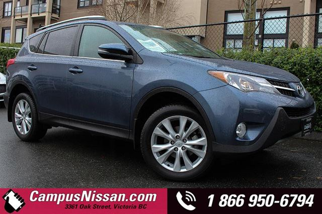 2013 TOYOTA RAV4 AWD Limited w Navi + Leather in Victoria, British Columbia