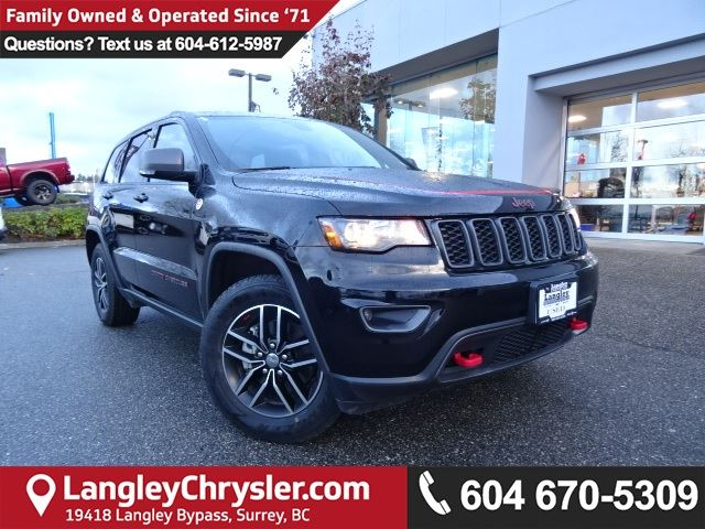 2017 JEEP GRAND CHEROKEE Trailhawk *ACCIDENT FREE * DEALER INSPECTED * CERTIFIED * in Surrey, British Columbia