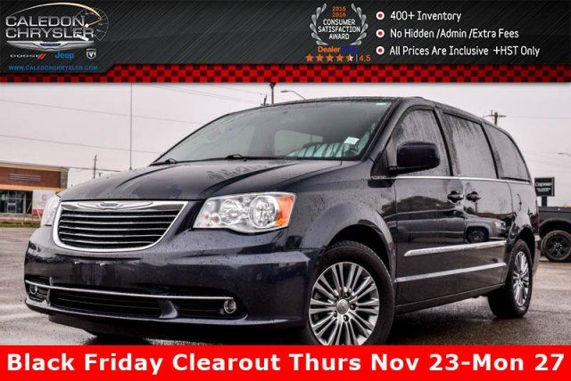 2014 CHRYSLER TOWN AND COUNTRY Touring Backup Cam Leather Heated Front seats R-Start Pwr Sliding Doors 17Alloy Rims in Bolton, Ontario