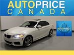 2014 BMW 228i M-SPORT PKG MOONROOF XENON in Mississauga, Ontario