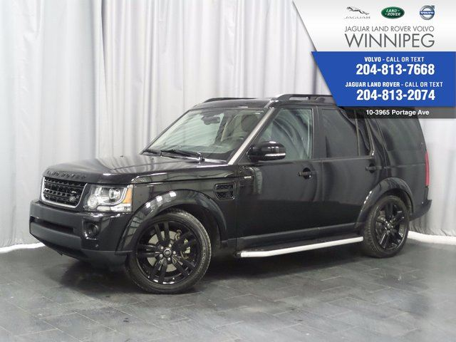 2016 LAND ROVER LR4 4WD 4dr *HSE 7 PASSENGER* *NO ACCIDENTS* in Winnipeg, Manitoba