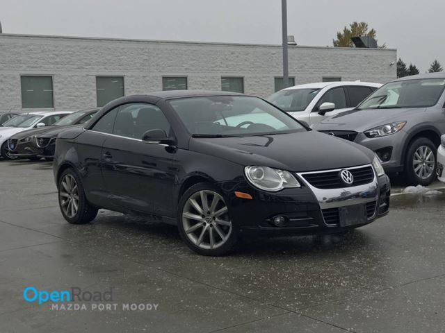 2007 VOLKSWAGEN EOS 2.0T A/T Convertible Local Bluetooth AUX Cruise in Port Moody, British Columbia