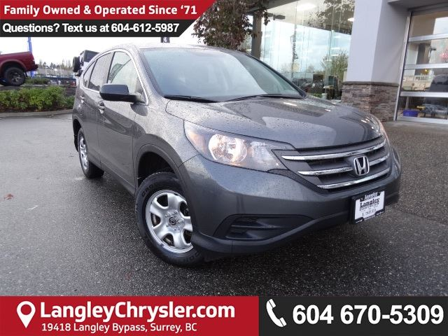 2013 HONDA CR-V LX *ACCIDENT FREE*ONE OWNER*LOCAL BC SUV* in Surrey, British Columbia
