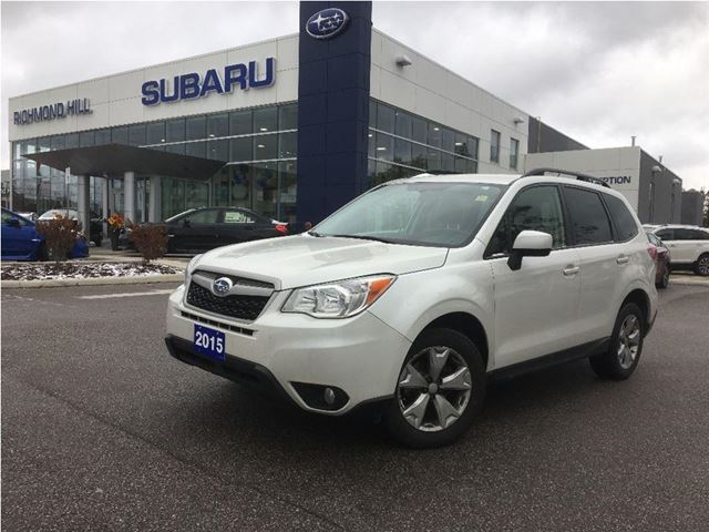 2015 Subaru Forester 2.5i Convenience Package 2.5i Convenience Package in Richmond Hill, Ontario
