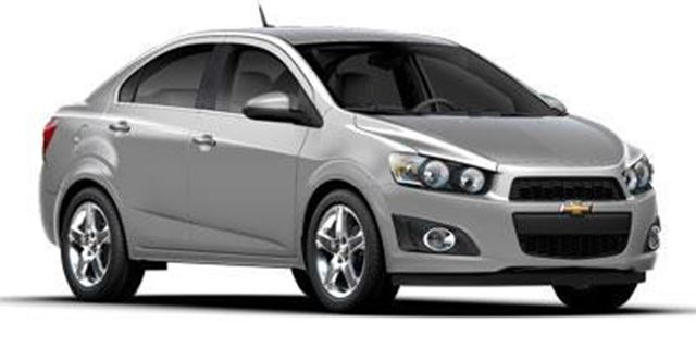 2014 CHEVROLET SONIC LT in Winnipeg, Manitoba