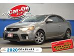 2010 Kia Forte Koup 2.4L SX LEATHER SUNROOF HEATED SEATS ALLOYS in Ottawa, Ontario