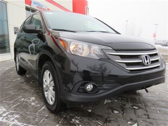 2013 HONDA CR-V EX-L **C/S** *No Accidents, One Owner** in Airdrie, Alberta