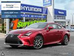 2015 Lexus RC 350 F SPORT 1 AND 2 in Whitby, Ontario