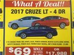 2017 Chevrolet Cruze LT in Port Hope, Ontario