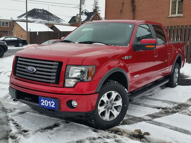 2012 Ford F-150 FX4 ,4X4,4 DR CREW,HEATED LEATHER ,3.5 ECO-BOOST, in Dunnville, Ontario