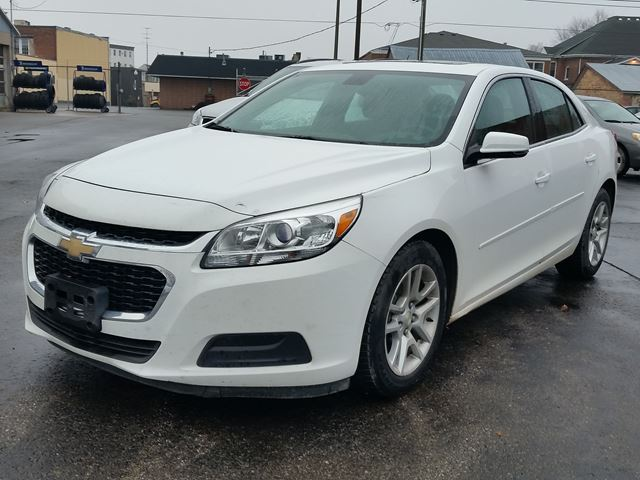 2014 Chevrolet Malibu LT,POWER SEAT,SUNROOF,LEATHER & CLOTH,ALLOYS in Dunnville, Ontario
