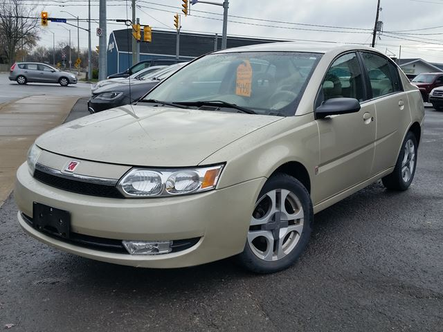 2003 SATURN ION Uplevel in Port Colborne, Ontario