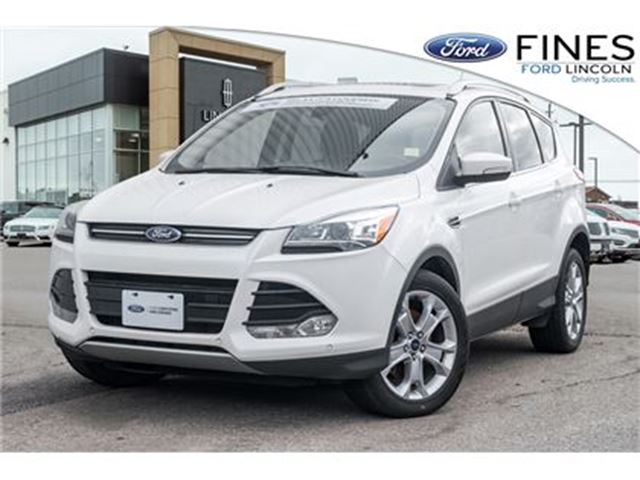 2014 FORD Escape Titanium - FORD CERTIFIED RATES FROM 1.9%APR in Bolton, Ontario