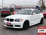 2011 BMW 1 Series i**LEATHER**SUNROOF**HEATED SEATS** in Mississauga, Ontario