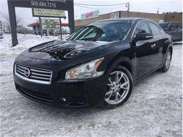 2012 NISSAN MAXIMA SV (CVT) LEATHER GLASS ROOF in St Catharines, Ontario
