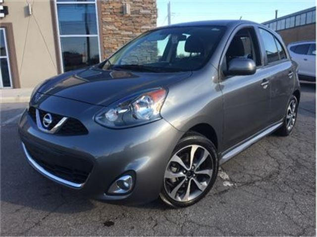 2016 NISSAN MICRA SR BACKUP CAM HEATED MIRRORS in St Catharines, Ontario
