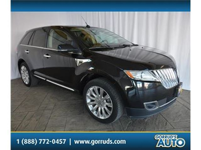 2014 LINCOLN MKX HEATED AND COOLED LEATHER/NAV/BLIND SPOT DETECT in Milton, Ontario